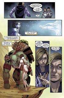 "Comic: Preview de ""Doctor Who: The Thirtheenth Doctor"" núm 4 de Jody Houser"