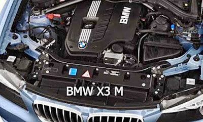 BMW X3 M power engine