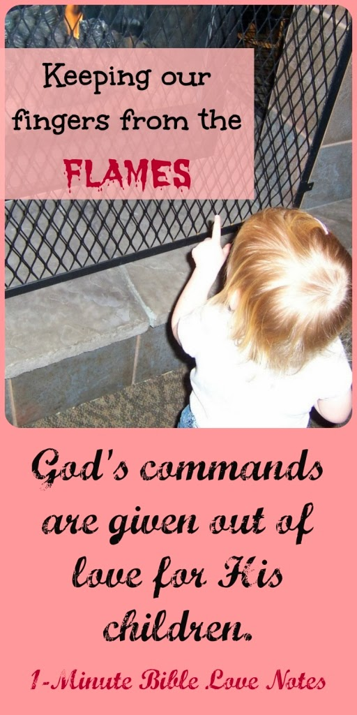 God's commands, purpose of God's commands, God's love