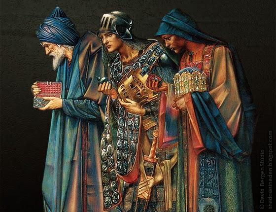Shadows in Eden: Gold, Frankincense and Myrrh