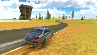 C63 AMG Drift Simulator Apk - Free Download Android Game