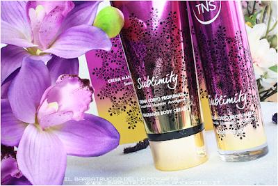 routine corpo sublimity Tns Cosmetics