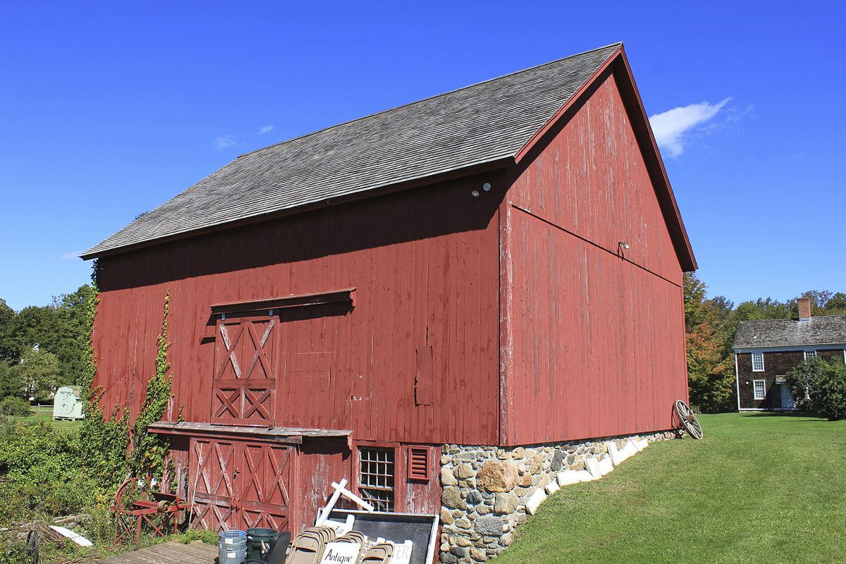 My Northwest Rhode Island : Why Are Barns Painted Red?