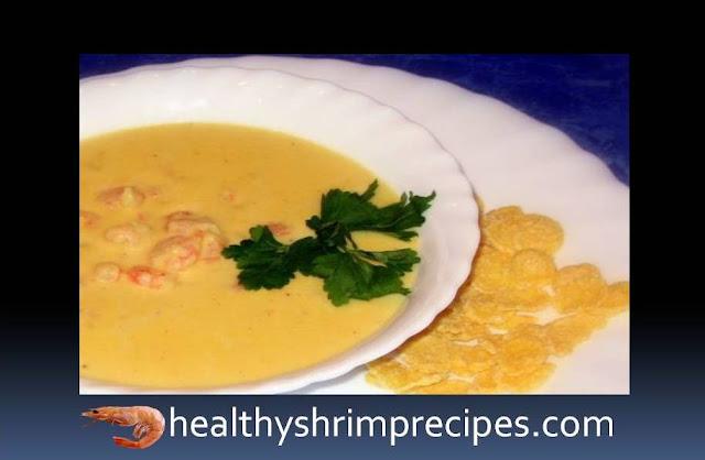 Corn Shrimp Soup recipe