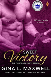 romance novel cover, contemporary romance, Royal Pick, Sweet Victory by Gina L. Maxwell