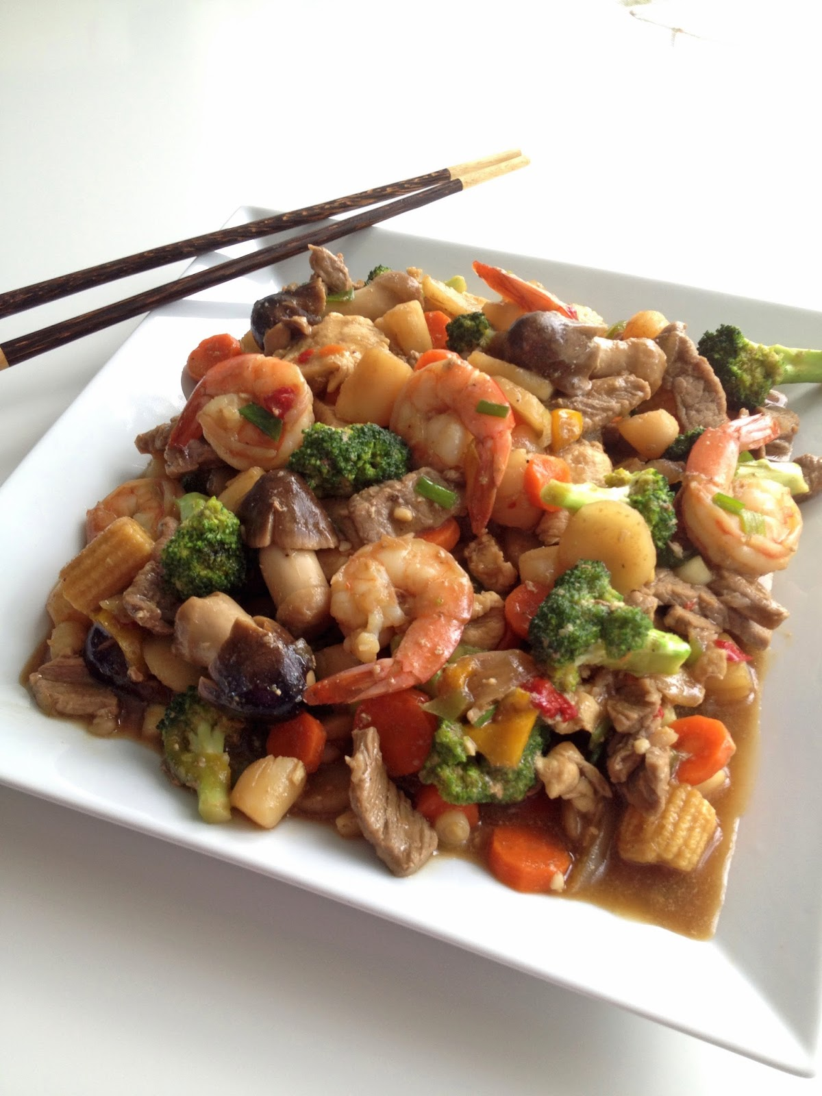 Happy Family Stir-Fry | Cooking Jar and Happy Accidents