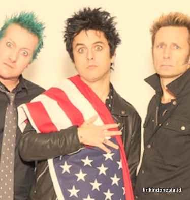Lirik Boulevard Green Day