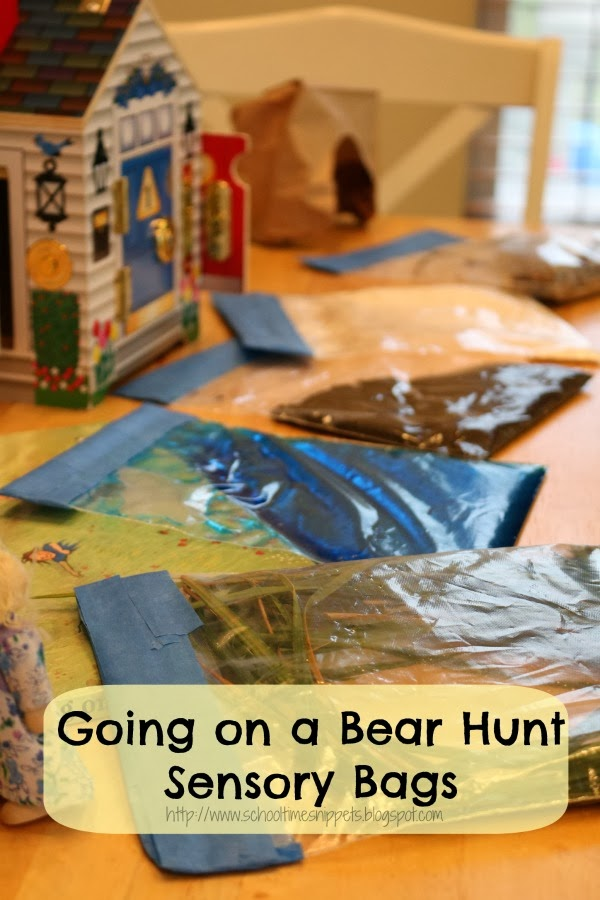 no-mess sensory bag for kids