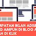Sentral It: Kawasan Iklan Adsense Yang Cantik Banyak Klik Di Blog