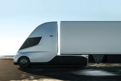 Protótipos de Caminhões Elétricos e Autônomos