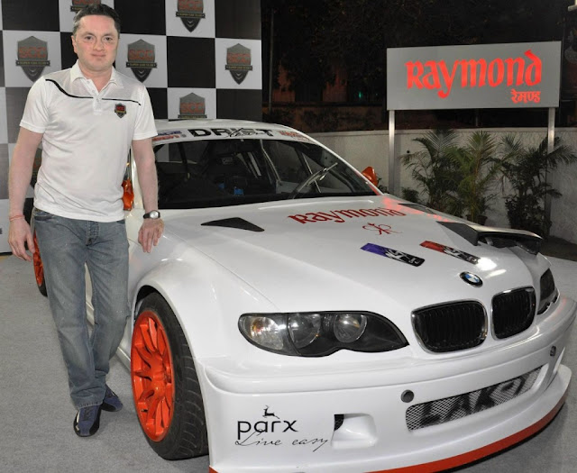 Gautam Singhania India's first exclusive drifting car