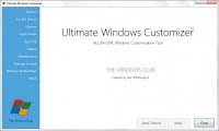 Download Ultimate Windows Customizer