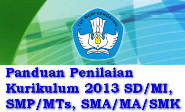Panduan Penilaian Kurikulum 2013 SD/MI, SMP/MTs, SMA/MA/SMK