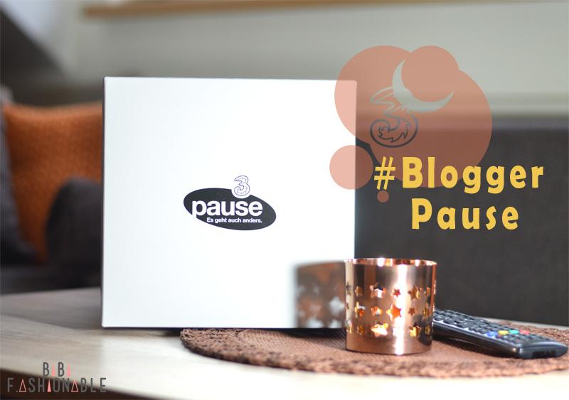 3 #BloggerPause Titel