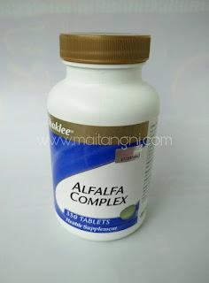 Alfalfa Complex dari Shaklee membantu atasi masalah Gastrik ketika berpuasa
