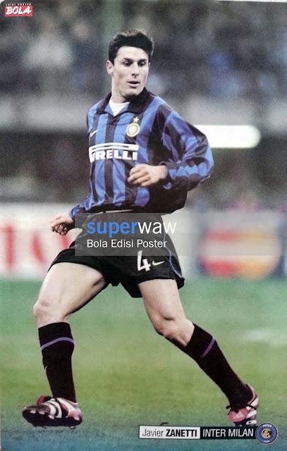 Poster Javier Zanetti (Inter Milan)