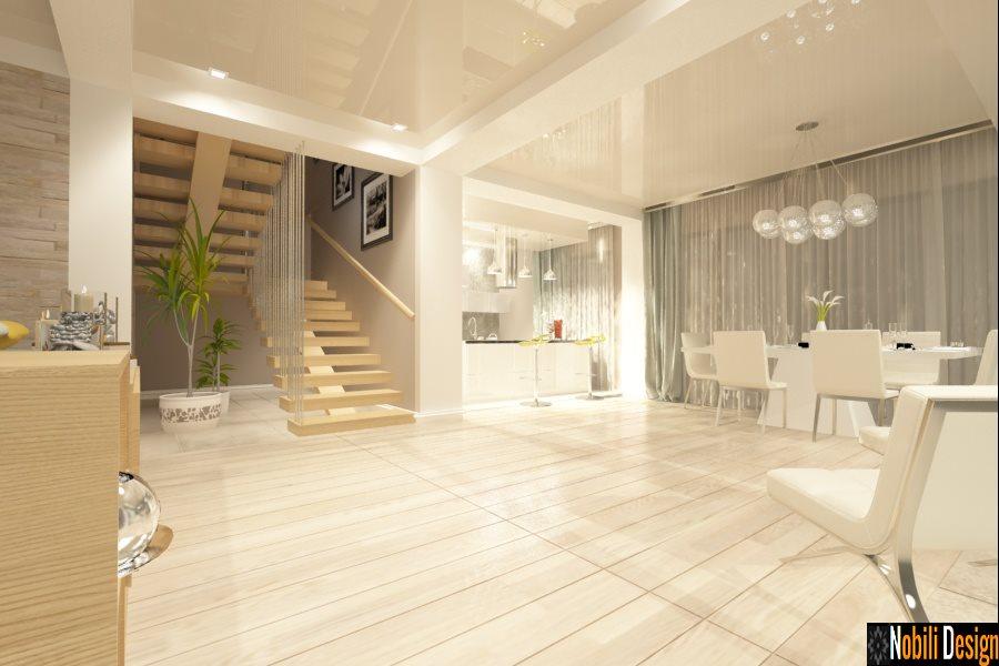 Design interior casa moderna - Proiect casa la cheie Bucuresti - Amenajari Interioare
