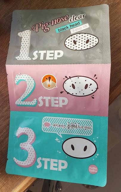 Holika Holika Pig Nose Blackhead 3 Step Kit