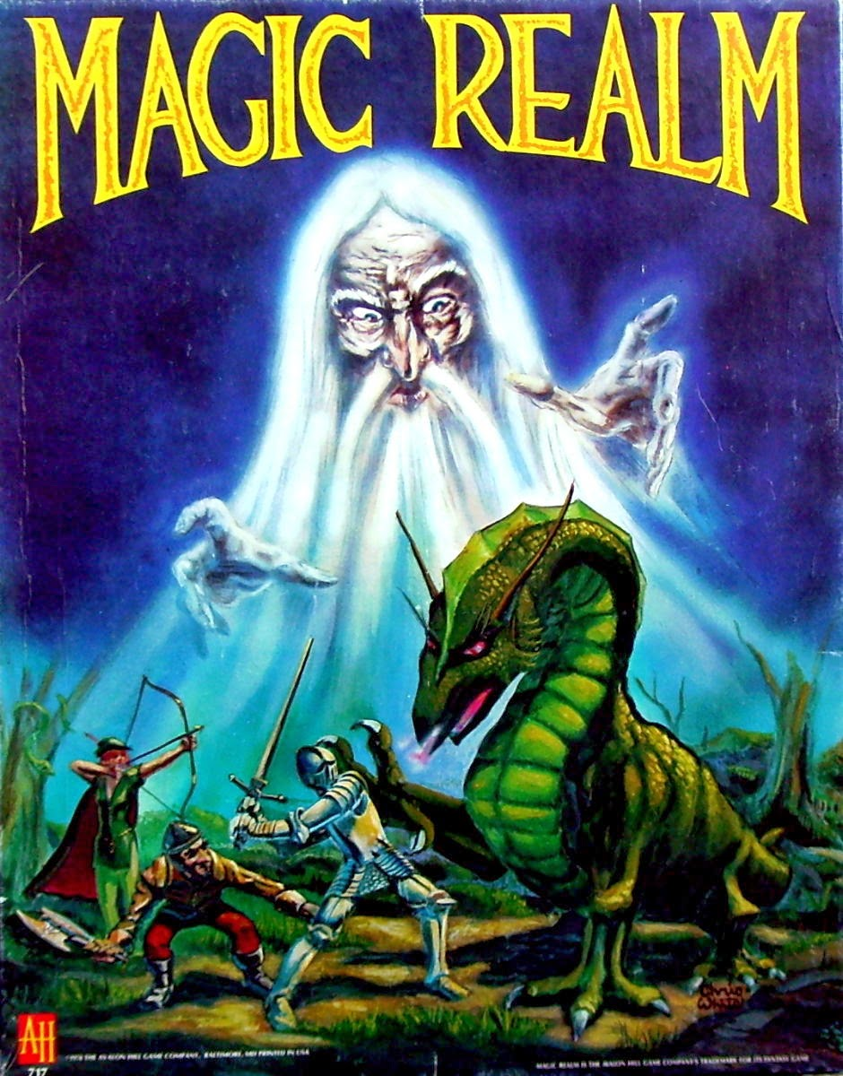 Avalon Juego De Mesa El Descanso Del Escriba Magic Realm De Avalon Hill 1979