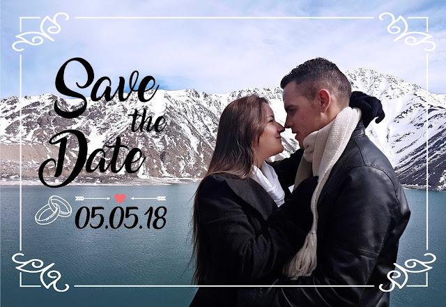 save the date em cajon del maipo