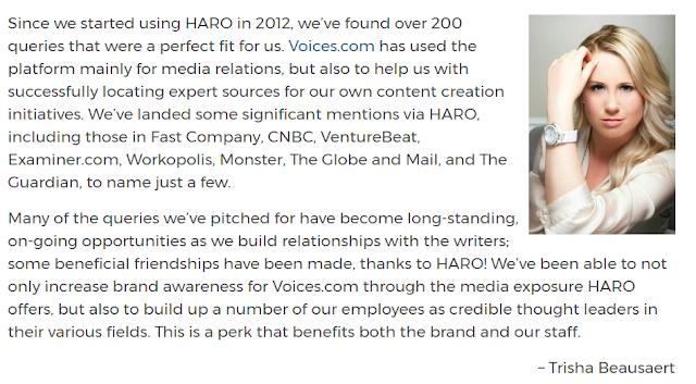 HARO Success Story