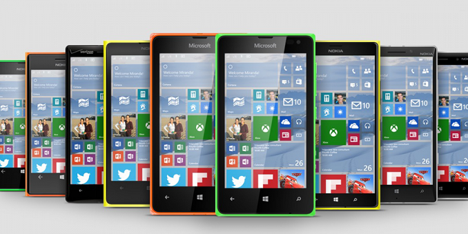 Windows 10 for phone