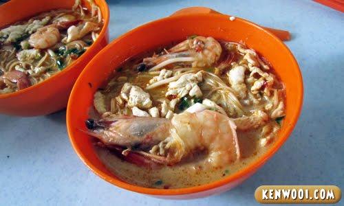 Sarawak Laksa Golden Arch Cafe