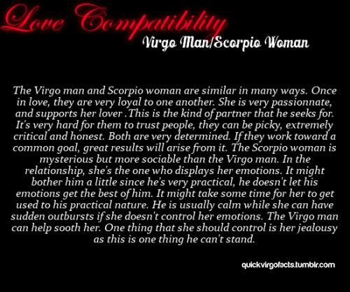 13 Quotes about VIRGO - SCORPIO Relationships | Scorpio Quotes