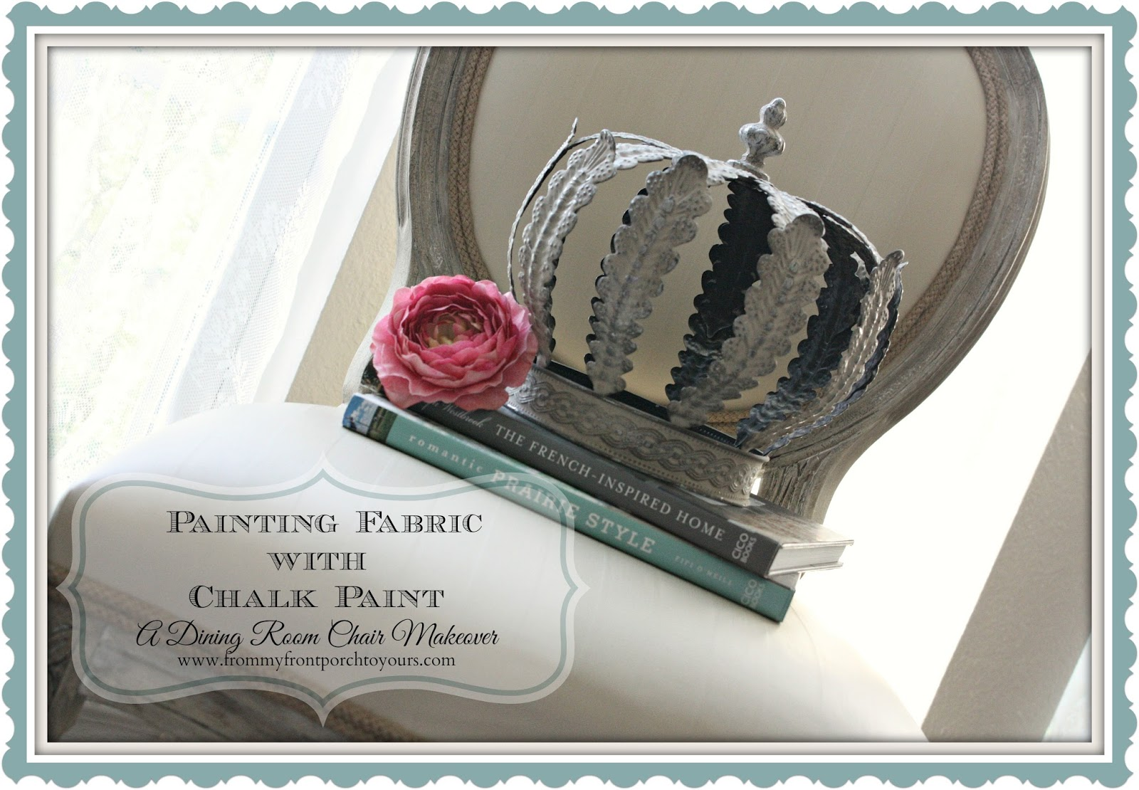 Painting Fabric with Chalk Paint-Top Blog Posts of 2014- From My Front Porch To Yours