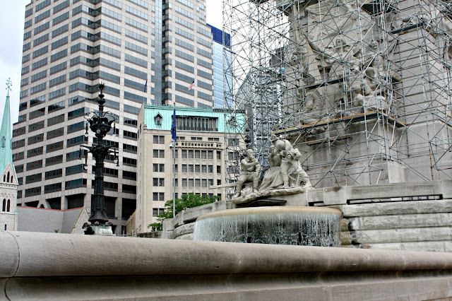Soldiers' and Sailors' Monument Indianapolis sculpture