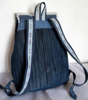 Как сделать круглый рюкзак выкройка рюкзака из старых джинсов своими руками фото