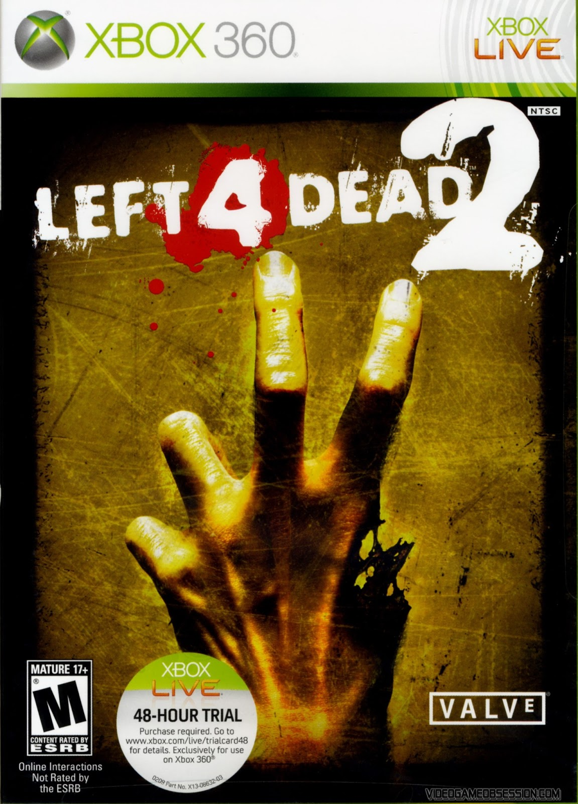 Free Downloaded Gamez: Left 4 Dead 2 Xbox 360 Game Free ... Xbox 360 Game Covers Download