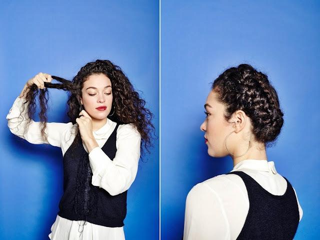 penteados para cabelos em transição