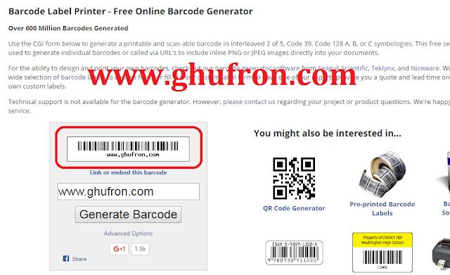Cara Mudah Membuat Barcode Untuk Produk