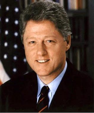 Foto de Bill Clinton con pocas canas