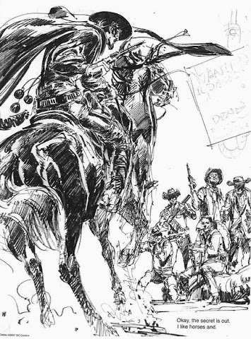 Sample page 2 of Neal Adams 2007 Sketchbook Convention Exclusive