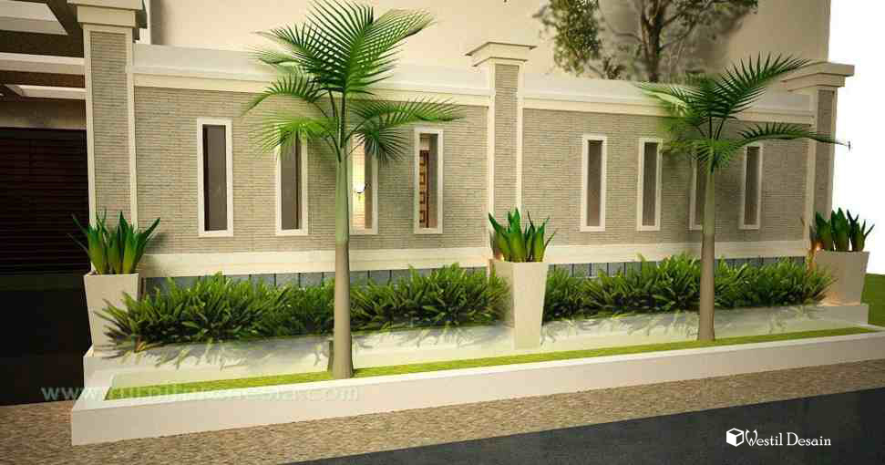 Contoh Model Pagar Rumah Hebel Terbaru  Ala Model Kini