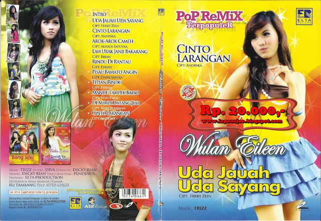 Wulan Eileen - Uda Jauh Uda Sayang (Album Pop Remix Terpopuler)