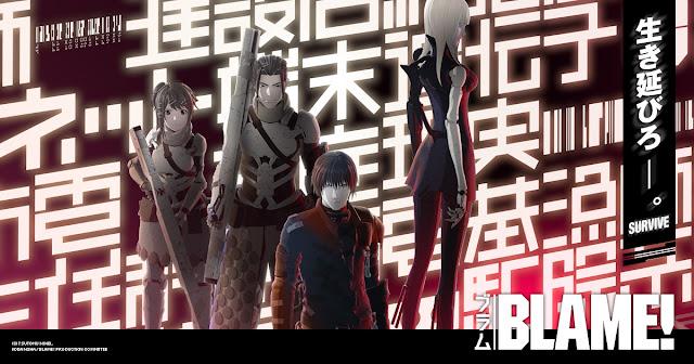 Zapowiedź filmu anime BLAME!