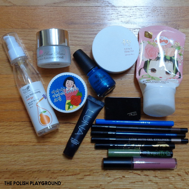 April 2017 Product Empties