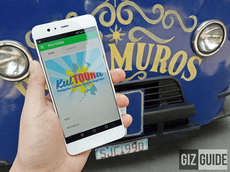 NCCA, DOT Launches KulTOURa Mobile Travel Guide App With Smart