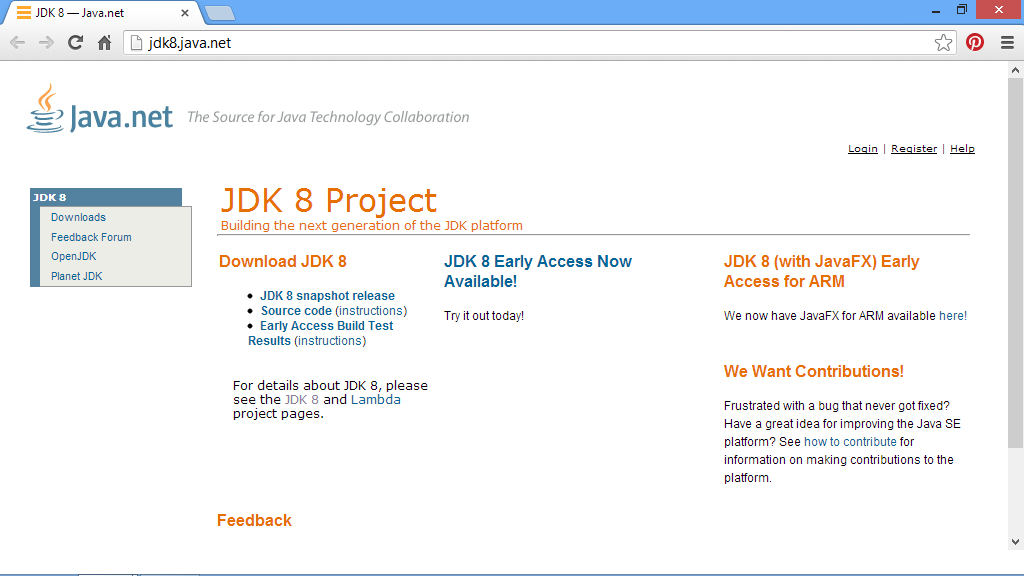 Java-Buddy: Java SE 7u17, Java SE 6 Update 43 and JDK8(Early