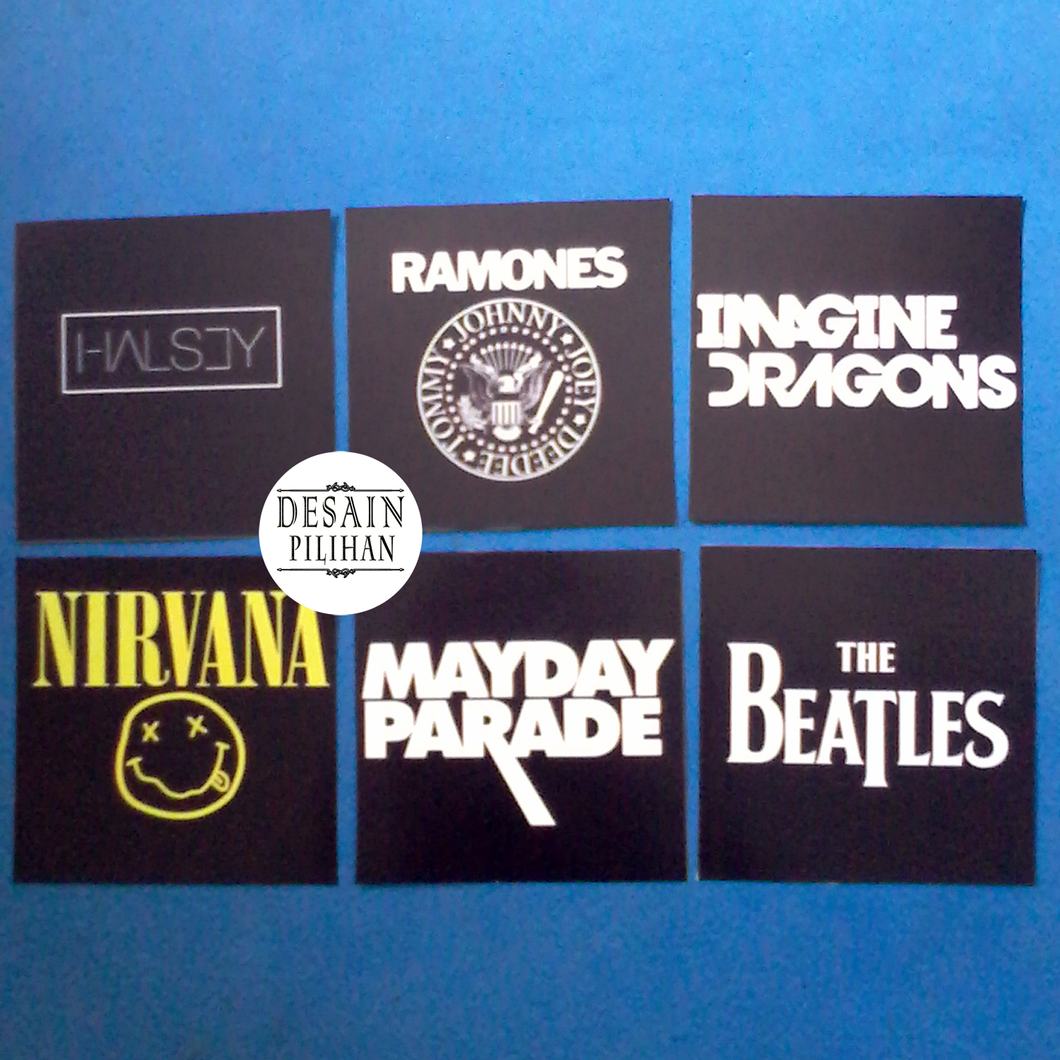 POSTER MINI REQUEST SIZE (THE BEATLES, MAYDAY PARADE, NIRVANA, DRAGONS, RAMONES)