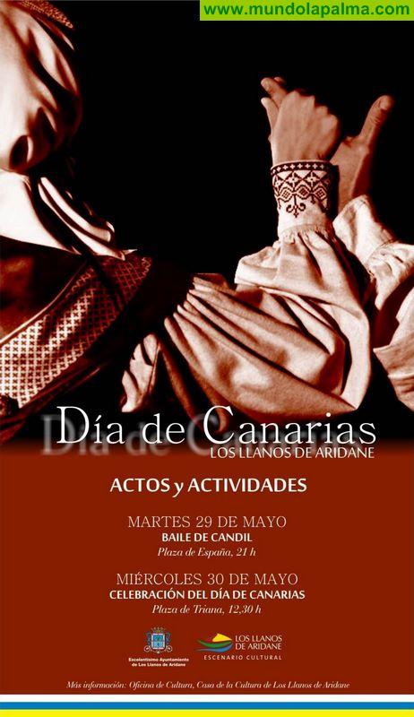 Los Llanos celebra el 29 de mayo el tradicional Baile del Candil