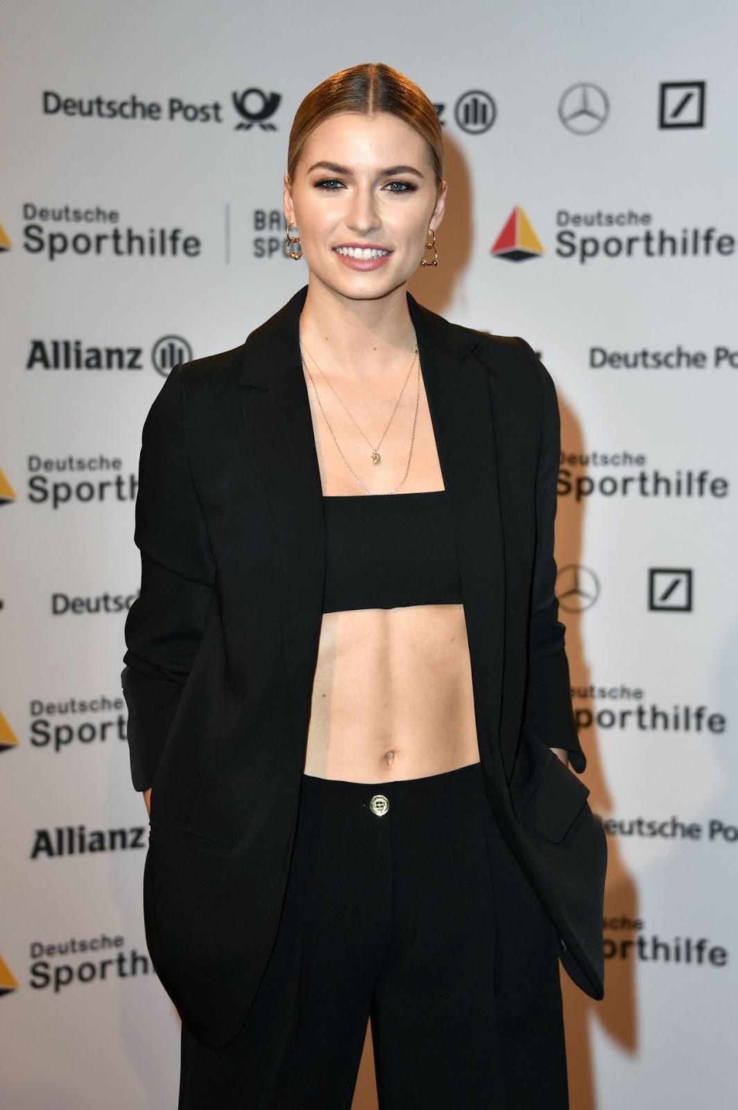 Lena Gercke – Ball Des Sports, Wiesbaden 02/02/2019