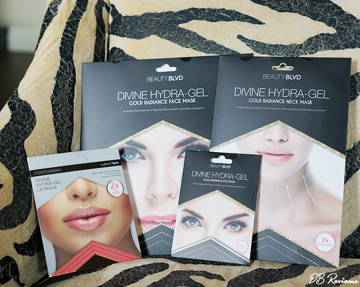The Divine Hydra-Gel mask collection from Beauty BLVD
