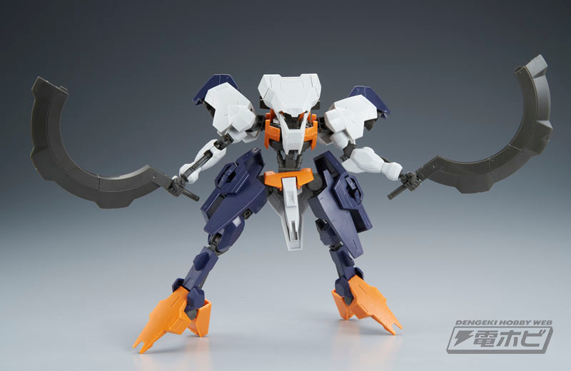 HG 1/144 Hugo Sample Images by Dengeki Hobby