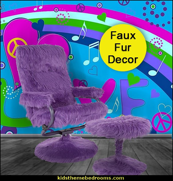 faux fur seating purple  faux fur home decor - fuzzy furry decorations - Flokati - mink - plush - shaggy - faux flokati upholstery - super soft plush bedding - sheepskin - Mongolian lamb faux fur - Faux Fur Throw - faux fur bedding - faux fur blankets - faux fur pillows - faux fur decorating ideas - faux fur bedroom decor - fur decorations - fluffy bedding - feathery lamps