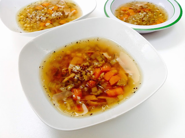 homemade-chicken-soup-recipe-with-quinoa