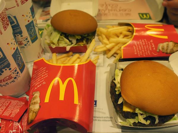 glutenfrei bei McDonald's in Barcelona